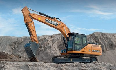 Máy đào bánh xích CASE CX210C
